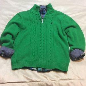 Boys Nautica Sweater Set